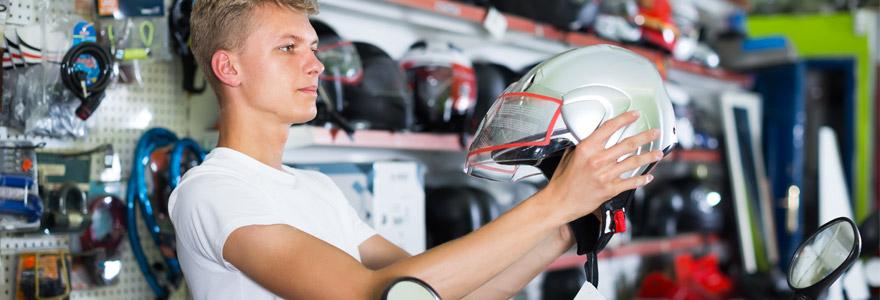 choix du casque quand on pratique le motocross